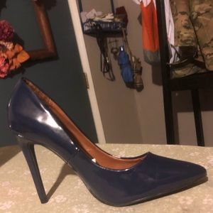Mossimo Supply Co. Shoes - Navy mossimo pumps size 7